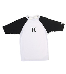 Hurley Boys' One & Only S/S Rashguard