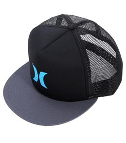Hurley Men's Color Block Trucker Hat