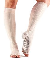 Toesox Scrunch Knee High Half Toe Yoga Socks