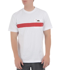 Toes On The Nose Men's Cali Stripe T-Shirt