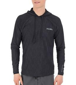 Xcel Men's Heathered VentX Hoodie Surf Shirt