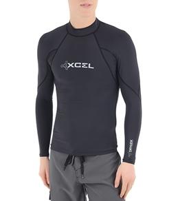 Xcel Men's Drylock L/S Hydrophobic Rashguard