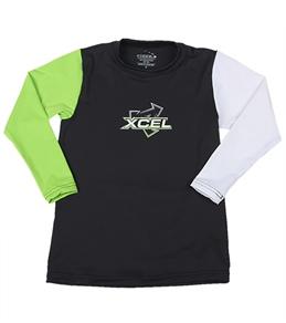 Xcel Boys' Premium 6 Oz L/S Surf Tee