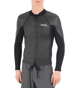 Xcel Men's SLX Smoothskin Front Zip 2/1MM Jacket