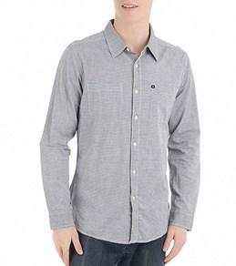 Quiksilver Men's Distortion Maze L/S Shirt
