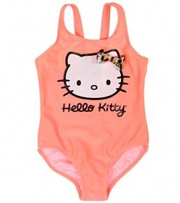Hello Kitty Girls' Leopard One Piece (12mos-6X)