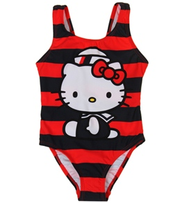Hello Kitty Girls' Sublimation One Piece (2T-6X)