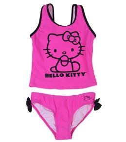 Hello Kitty Girls' 80's Baby Tankini Set (12mos-14)