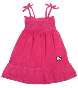 Hello Kitty Girls' Terry Sundress Cover Up