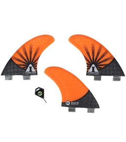 Kinetik Racing AI Forever 2.0 Tri Fin Set - S - FCS