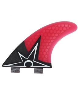 Kinetik Racing Bruce Irons Carbo Tune Tri Fin Set  - FCS