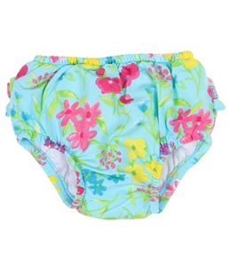 iPlay Girls' Ultimate Ruffle Swim Diaper