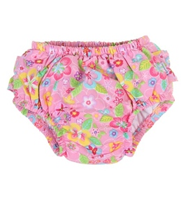 iPlay Girls' Ultimate Ruffle Swim Diaper