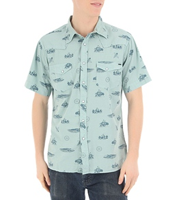 Reef Men's Plains Surfer Western S/S Shirt