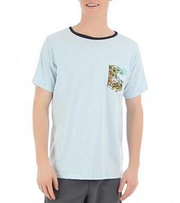 Reef Men's Haleiwa Pocket S/S Knit Shirt