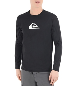 Quiksilver Men's Solid Streak L/S Relaxed Fit Surf Shirt
