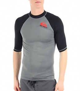 Quiksilver Men's Cross Up S/S Fitted Rashguard