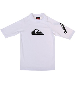 Quiksilver Boy's All Time S/S Fitted Rashguard