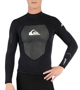 Quiksilver Men's Syncro 1.5MM Back Zip Wetsuit Jacket