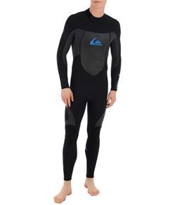 Quiksilver Men's Syncro 3/2 MM Back Zip Fullsuit