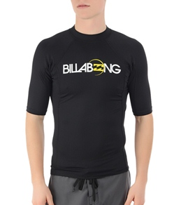Billabong Men's All Day S/S Fitted Rashguard