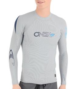 O'Neill Men's Skins Hyperfreak L/S Crew Rashguard