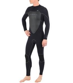 O'Neill Men's Heat 3QZIP 3/2MM FSW Fullsuit