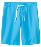 Tidepools Girls' Solid Long Boardshorts (7-14)