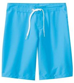 Tidepools Girls' Solid Boardshorts (7-14)