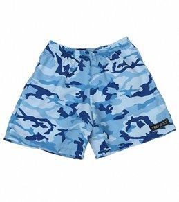 Tidepools Boys' Camouflage Elastic Waist Boardshorts (4-14)