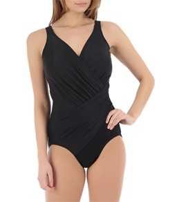 Miraclesuit Solid Oceanus DD Cup One Piece