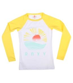 Roxy Girls' Bonfire Sand Dancer L/S Rashguard (7-16)