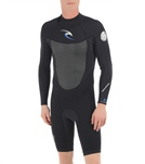 Rip Curl Men's 2MM Dawn Patrol Back Zip Long Sleeve Spring Suit Wetsuit