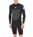 Rip Curl Men's 2MM Dawn Patrol Back Zip Long Sleeve Spring Suit Wetsuit