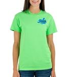 Image Sport Swim Excuses Lime T-Shirt