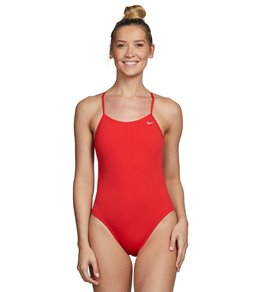 Nike Swim Polyester Cut-Out Tank Swimsuit