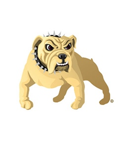 Swim Tattoos Bulldog