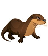 H2O-Toos Swim Tattoos Otter