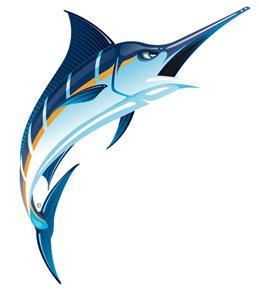 Swim Tattoos Marlin