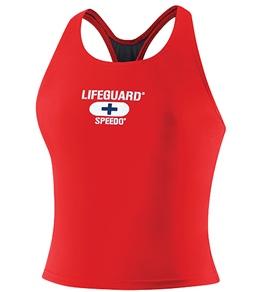 Speedo Lifeguard Tankini Technoback Top