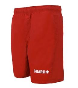 ClubSwim Men's Guard Solid Swim Trunk