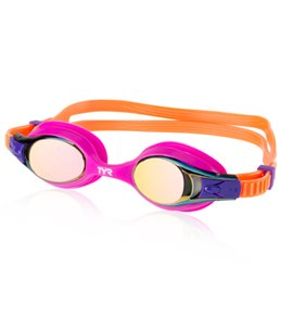 TYR Kids' Swimple Metallized Goggle