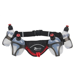 Zenergy Hydration Nutrition Belt With Four 10oz Bottles