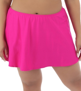 Coco Reef Solid Plus Size Skirted Bottom