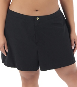 Coco Reef Solid Plus Size In Control Boardshort