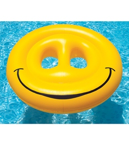 Swimline Smiley Face Island Lounger