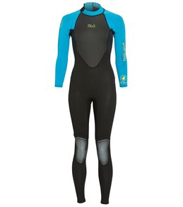 Body Glove Women's Pro 3 3/2MM Back Zip Fullsuit