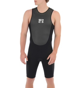 Body Glove Men's Fusion 2MM Back Zip Short John
