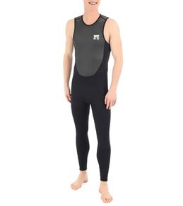 Body Glove Men's Fusion 2MM Back Zip Long John