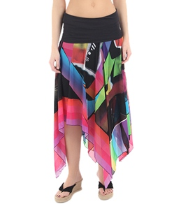 Sunflair Rainbow Stripes Skirt